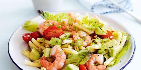 Food, Dishware, Salad, Cuisine, Tableware, Serveware, Produce, Vegetable, Plate, Recipe,