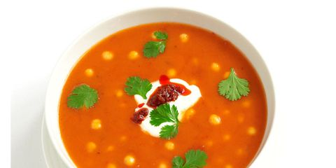 Food, Orange, Ingredient, Garnish, Recipe, Produce, Dish, Stew, Gazpacho, Soup,