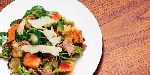 Food, Wood, Cuisine, Salad, Ingredient, Dish, Wood stain, Recipe, Leaf vegetable, Vegetable,