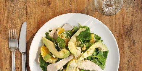 Food, Dishware, Salad, Tableware, Cuisine, Cutlery, Kitchen utensil, Leaf vegetable, Ingredient, Serveware,