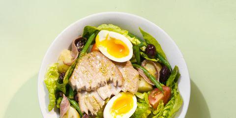 Food, Ingredient, Produce, Egg yolk, Cuisine, Dish, Boiled egg, Vegetable, Serveware, Egg white,