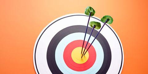 Colorfulness, Orange, Circle, Games, Precision sports, Shooting, Graphics, Symbol,