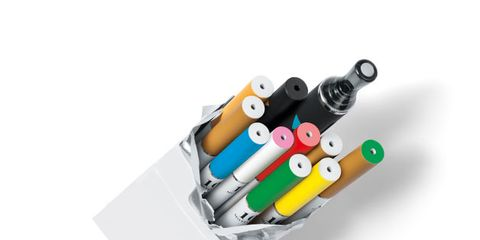 Colorfulness, Writing implement, Stationery, Office supplies, Aqua, Turquoise, Office instrument,