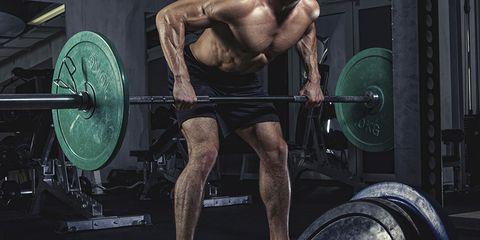 Leg, Weights, Barbell, Human leg, Physical fitness, Human body, Chin, Chest, Weightlifter, Shoulder,