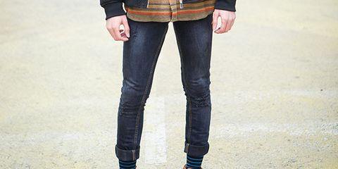 Clothing, Footwear, Leg, Product, Brown, Trousers, Denim, Shoe, Jeans, Textile,