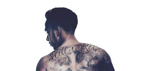 tattoo, shoulder, arm, skin, neck, human, facial hair, chest, sleeve, back,