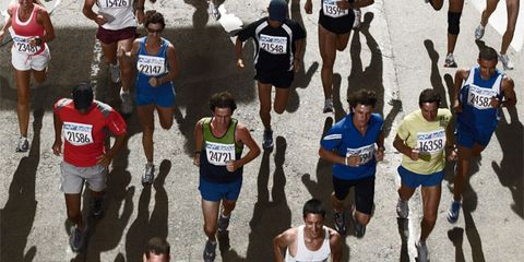 Footwear, Leg, People, Recreation, Endurance sports, Quadrathlon, Human leg, Athlete, Running, Athletic shoe,