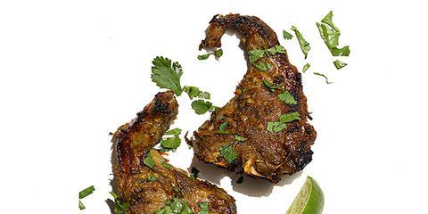 Green, Ingredient, Meat, Whole food, Produce, Herb, Garnish, Natural foods, Green algae, Leaf vegetable,