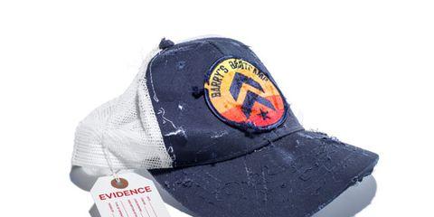 Cap, Product, Hat, Baseball cap, Logo, Headgear, Costume accessory, Font, Cricket cap, Symbol,