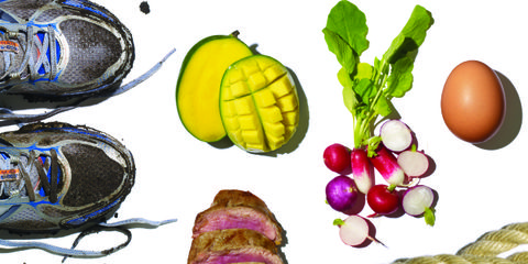 Athletic shoe, Produce, Running shoe, Vegetable, Natural foods, Ingredient, Walking shoe, Food group, Root vegetable, Sneakers,