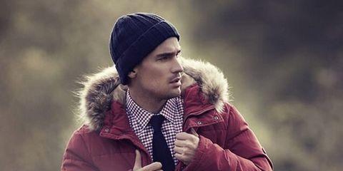 Winter, Jacket, Sleeve, Textile, Outerwear, Coat, Street fashion, Fur clothing, Fashion, Cap,