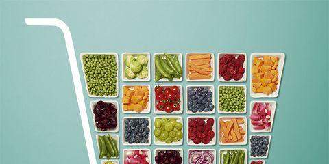 Produce, Art, Natural foods, Fruit, Illustration, Food group, Painting, Circle, Visual arts, Symbol,