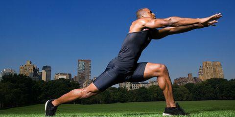 Grass, Human leg, Human body, Shoulder, Elbow, Joint, Tower block, Knee, Summer, Muscle,