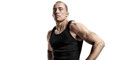Arm, Human body, Shoulder, Elbow, Sleeveless shirt, Standing, Hand, Joint, Wrist, Chest,