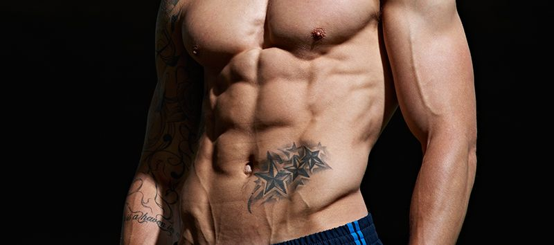 Intense fat-burning six pack workout