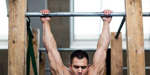 Arm, Human leg, Chin, Wrist, Elbow, Shoulder, Physical fitness, Standing, Sleeveless shirt, Joint,