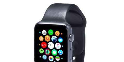 Watch, Gadget, Mobile phone, Watch phone, Portable communications device, Communication Device, Technology, Electronic device, Multimedia, Fashion accessory,