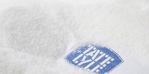 Logo, Electric blue, Brand, Frost, Trademark, Freezing,