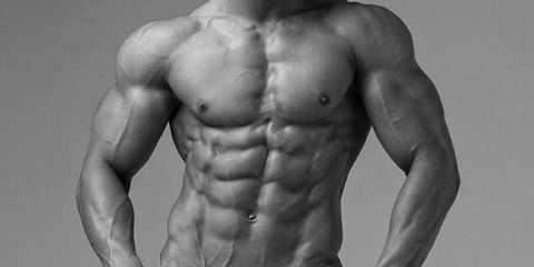 Skin, Shoulder, Chest, Barechested, Standing, Joint, Bodybuilder, Trunk, Style, Muscle,