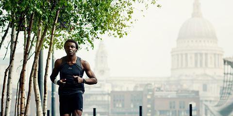 Human body, Human leg, Dome, Atmospheric phenomenon, Exercise, Running, Endurance sports, Jogging, Athletic shoe, Knee,