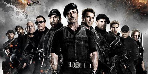 Poster, Fictional character, Action film, Movie, Law enforcement, Crew, Machine gun, Illustration, Air gun, Animation,