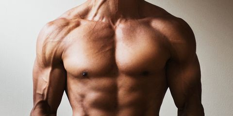 Skin, Shoulder, Joint, Barechested, Chest, Trunk, Muscle, Abdomen, Stomach, Organ,