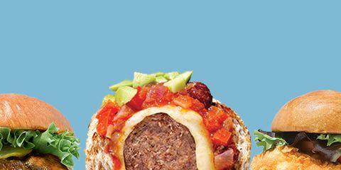 Food, Finger food, Cuisine, Sandwich, Ingredient, Dish, Produce, Meat, Bun, Baked goods,