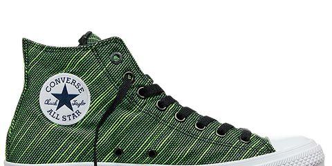Footwear, Product, Shoe, Green, White, Sportswear, Line, Athletic shoe, Sneakers, Logo,