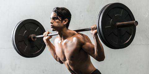 Head, Arm, Weightlifter, Weights, Barbell, Exercise equipment, Physical fitness, Human body, Human leg, Chest,