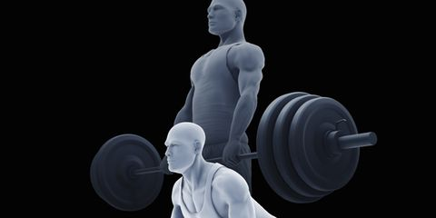 Human, Chest, Standing, Elbow, Physical fitness, Muscle, Exercise equipment, Automotive wheel system, Exercise, Weightlifting,