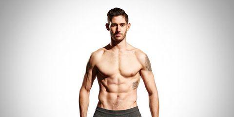 Human body, Shoulder, Facial hair, Standing, Joint, Waist, Human leg, Chest, Elbow, Abdomen,