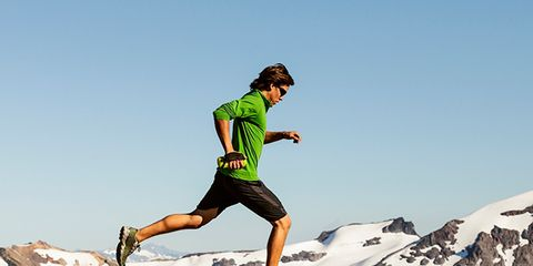 Human leg, People in nature, Outdoor recreation, Shorts, Knee, Calf, Adventure, Active shorts, Running, Playing sports,