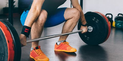 Human leg, Chin, Wrist, Elbow, Shoulder, Sportswear, Physical fitness, Weightlifter, Weights, Chest,