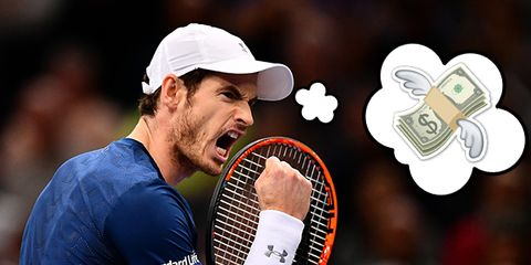 Tennis player, Tennis, Racket, Muscle, Sports equipment, Championship, Competition event, Player, Cap,