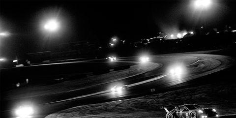 Night, Road, Automotive lighting, Road surface, Darkness, Light, Midnight, Headlamp, Monochrome, Lens flare,