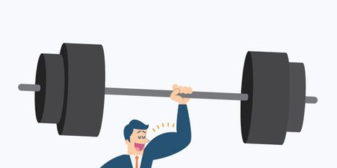 Weights, Elbow, Standing, Physical fitness, Exercise equipment, Line, Free weight bar, Wrist, Weight training, Exercise,