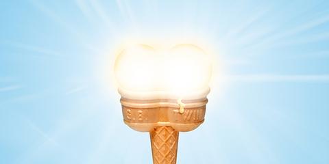 Atmosphere, Amber, Sunlight, Light fixture, Light bulb, Incandescent light bulb, Lighting accessory, Lens flare, Calm, Balance,