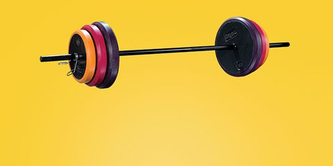 Magenta, Violet, Circle, Paint, Free weight bar, Weight training, Exercise equipment, Rolling, Synthetic rubber, Weights,