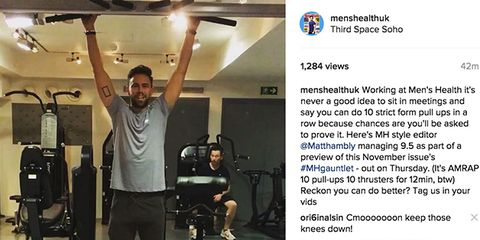 Leg, Shoulder, Exercise machine, Service, Gym, Physical fitness, Exercise, Machine, Photo caption, Screenshot,