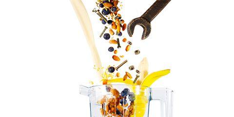 Liquid, Amber, Produce, Mason jar, Plant stem,