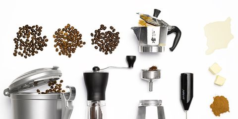 Small appliance, Kitchen appliance, Mixer, Blender, Home appliance, Coffee grinder,