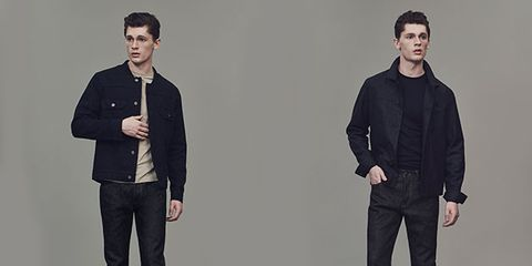 Collar, Sleeve, Trousers, Shoulder, Standing, Textile, Shirt, Joint, Outerwear, Style,