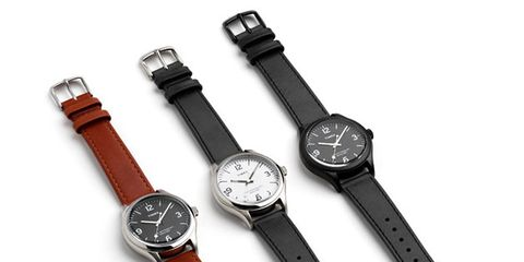 Product, Watch, Watch accessory, Analog watch, Metal, Black, Everyday carry, Grey, Steel, Strap,