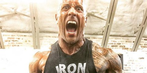 Sleeveless shirt, Jaw, Vest, Muscle, Jersey, Temple, Chest, Tooth, Shout, Sports jersey,