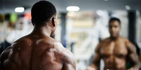 Chin, Human body, Chest, Shoulder, Standing, Joint, Barechested, Trunk, Bodybuilder, Muscle,