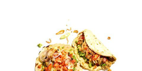 Food, Cuisine, Finger food, Dish, Ingredient, Recipe, Taco, Fast food, Produce, Vegetable,