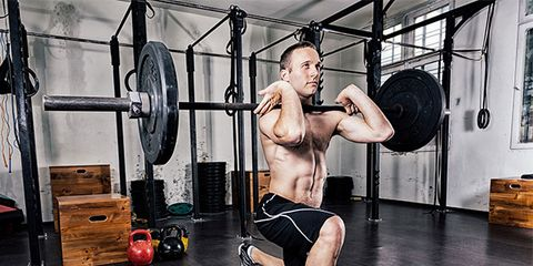Weights, Leg, Room, Exercise equipment, Weightlifter, Physical fitness, Human leg, Exercise, Barbell, Chin,