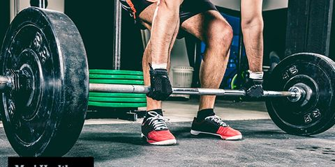 Human leg, Shoe, Chin, Physical fitness, Exercise, Text, Joint, Exercise equipment, Weightlifter, Barbell,