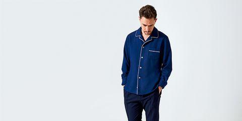 Clothing, Blue, Denim, Jeans, Outerwear, Standing, Sleeve, Cobalt blue, Electric blue, Pocket,