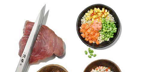 Dish, Food, Cuisine, Ingredient, Garnish, Steamed rice, Salad, Produce, Recipe, Meat,
